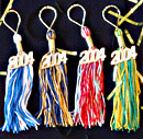 key chain tassels